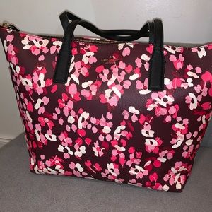 Kate Spade Bag NY Young Lane Cherry Floral Tote